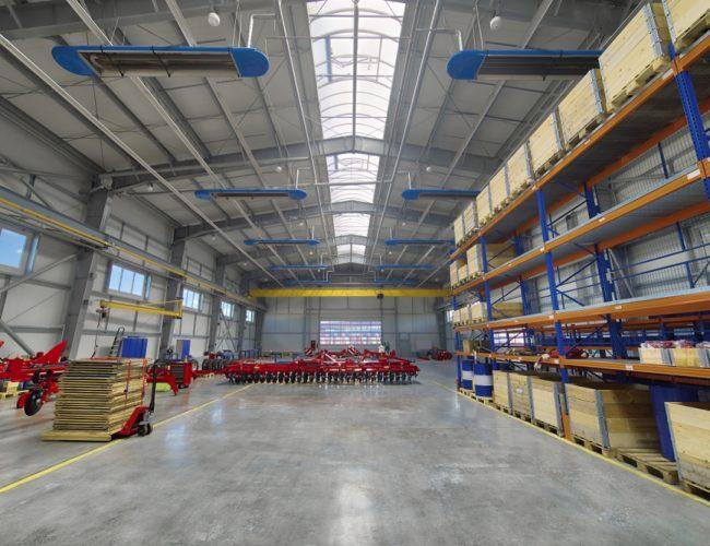 Hala Metalica Interior
